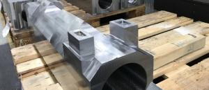 CNC Frästeil für die Schienenfahrzeug Industrie