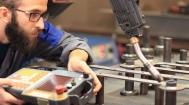 Teaching des Schweissroboters