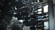 Vielzahl von Zerspanungswerkzeugen in einem Werkzeugwechsler